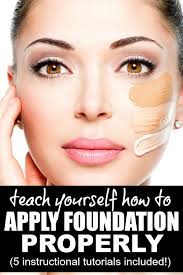 whether you prefer applying your foundation with a brush with a sponge or with