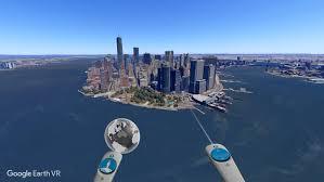 Resultado de imagen para auricular vr google earth oculus