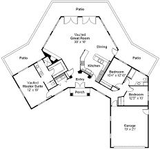 Hexagon House Floor Plan  Google Search  For The Man  Pinterest Hexagon House Plans