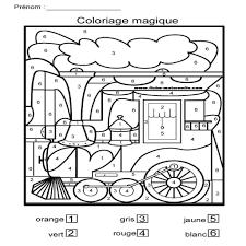 Jeux De Coloriage Magique Gratuit