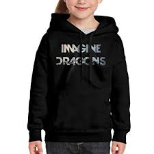 Dragons Girls Youth Amazon com Clothing Medium Sweatshirt Imagine Karri Hoodies Ou For