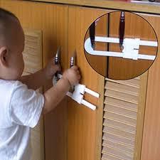 <b>Baby Safety Lock U Shape</b> Kids Cabinet <b>Locks</b> Protection Cabinet ...
