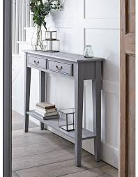 narrow entry table. Kitchen: Eye Catching Narrow Console Table With Shelves Of Echelon Crate And Barrel From Alluring Entry A