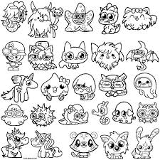 Small Picture Printable Moshi Monsters Coloring Pages For Kids Cool2bKids
