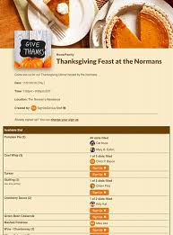 thanksgiving potluck sign up sheet thanksgiving sign ups for potlucks parties and more