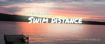 Common Triathlon Swim Distances Conversions Tgb Training