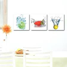 canvas wall art for kitchen modern decor wall art pictures canvas prints fresh fruit in water