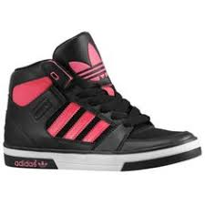 adidas shoes high tops pink and black. adidas high tops for girls | shoes pink famous adidas! pinterest tops, and black
