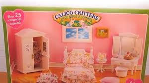 Calico Critters Girlu0027s Bedroom   Unboxing And Review With LPS!   YouTube