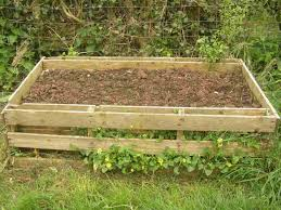 build diy raised garden beds from pallets a bed out of steps with picturesrhinstructablescom old used