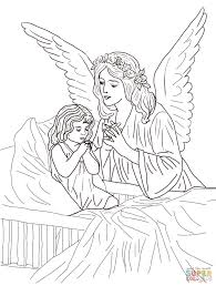 Angel Coloring Pages To Print With Angels Save Yahoo Image Search