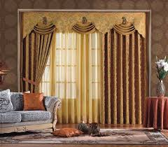 dense curtains with sheer neutral colored curtains