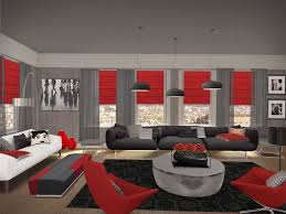 incredible gray living room furniture living room. Incredible Gray And Red Living Room Interior Design Inspirations Including Furniture Walls Images Awesome Black