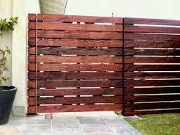 Horizontal Wood Fence Panel With House Fences On Pinterest Living