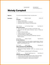 Resume Templates For Nurses Best Of Resume Templates For Nurses Cv Resume Template Nursing 5