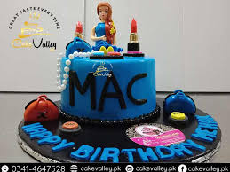 Make Up Kit Cake Design Birthday Cakes For Girls Online Cake Order