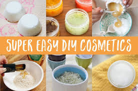 super easy diy natural cosmetics