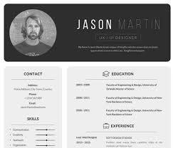 Free Resume Templete 10 Free Cv Templates For Creatives 2019