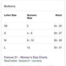 Forever 21 Chart Size Forever 21 Black Leggings Must Bundle