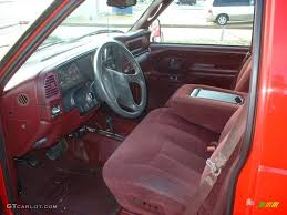 Red Interior 1998 Chevrolet C/K 3500 K3500 Silverado Crew Cab 4x4 ...