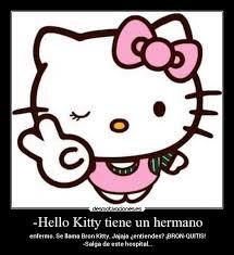 Hello Kitty tiene un hermano   Desmotivaciones via Relatably.com