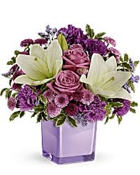 <b>Purple Flowers</b> | Elegant <b>Purple Flower</b> Arrangemens | Teleflora