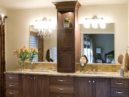 best collection bathroom vanity with tower details walnut master bathroom vanity with tower double sink