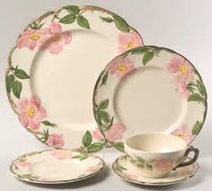 Rose Pattern China Best Desert Rose USA Backstamp By Franciscan China At Replacements Ltds
