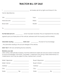 Sample Motor Vehicle Sale Agreement Purchase Form Format In