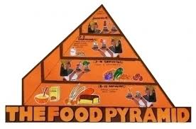 Food Pyramid Project Make A Science Fair Poster Egyptian Food Pyramid Poster