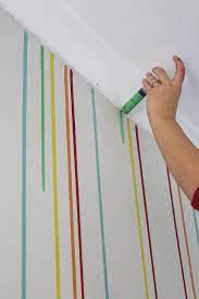 room paint diy drippy wall diy wall