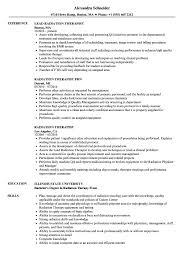 Radiation Therapist Resume Samples Velvet Jobs