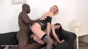 Eva Berger and Yanick Shaft in a Wild Orgy PornDoe