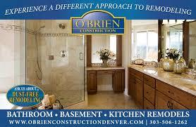 O'Brien Construction Denver Bathroom Remodeling Contractor Inspiration Denver Basement Remodel