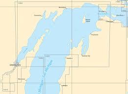Little Bay De Noc Depth Chart Upper Lake Michigan Paper Charts Page 2 Of 2