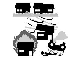 保険 災害 火事 事故 津波 趣味興味 ピクトグラム
