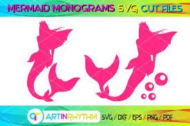 Mermaid Svg Cut Files Graphic By Artinrhythm Creative Fabrica