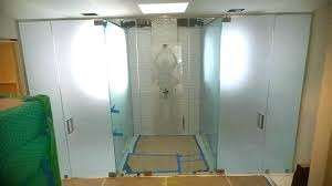 frosted shower door glass frosted glass shower doors frosted glass shower door partially frosted glass shower