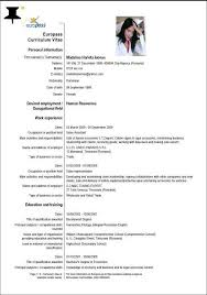 Resume In English Interesting Sample Resume Cv English British Style Of Cv Writing Highlights