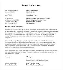 Microsoft Business Letter Templates Formal Business Letter Format 29 Download Free Documents In Word Pdf