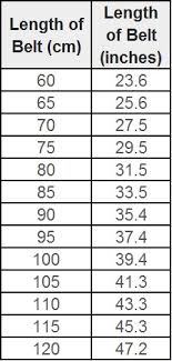V Belt Conversion Chart Adidas Shoe Conversion Online Charts Collection