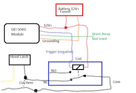 dei shock sensor wiring dei image wiring diagram write up how to wire up a dei shock sensor to the oem alarm on dei