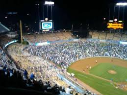 Dodger Stadium Seating Chart With Rows Dodger Stadium Section 7td Row O Home Of Los Angeles Dodgers