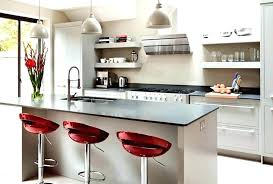 black and red kitchen designs. Kitchen Decor Ideas Red Grey And Designs Crescent Stools For Modern Black