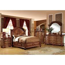 Furniture of America Traditional Style 4 Piece Antique Tobacco Oak Bedroom Set 28ca8c78 6e3d 4f4a bd4c d34eedb 600