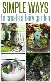 5 ways to create a fairy garden