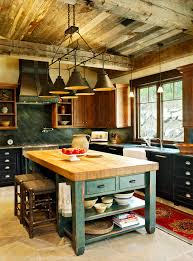 rustic kitchens designs. Perfect Designs Stunning Kitchen Designs With 2Toned Cabinets  Mountain Living Farmhouse  Via Houzz In Rustic Kitchens N