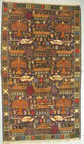 in this intricate rug baluchi weavers fashioned rows of overt depictions of war helicopters fighter planes tanks and grenades kevin sudeith