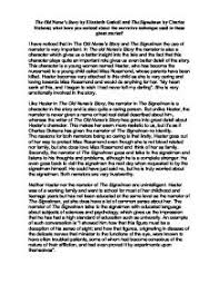 the old nurse tm s story by elizabeth gaskell and the signalman by page 1 zoom in