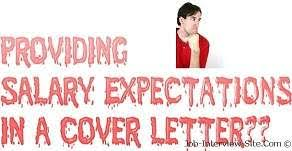 Salary Expectations Cover Letter With Salary Expectations